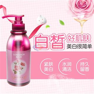 隆力奇500ml玫瑰香薰香浴油  18瓶/箱