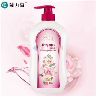 江南之恋900ml芬芳沐浴露(玫瑰润肤型)12瓶/箱