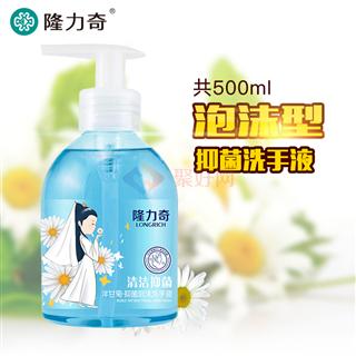 隆力奇500ml洋甘菊抑菌泡沫洗手液  24瓶/箱
