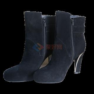 【断码促销】艾力沛魔力鞋(女士L款黑色牛绒短靴) 40码    原价3980   秒杀价 888元