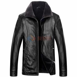 2017冬季新款中青年男士皮毛一体男款皮衣皮夹克5色可选厂家直销