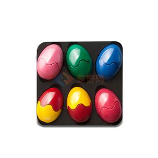 普麗猫/Primomo 创新安全儿童玩具蜡笔 6色 彩蛋