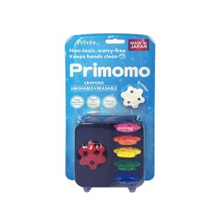 普麗猫/Primomo 创新安全儿童玩具蜡笔 6色 花朵