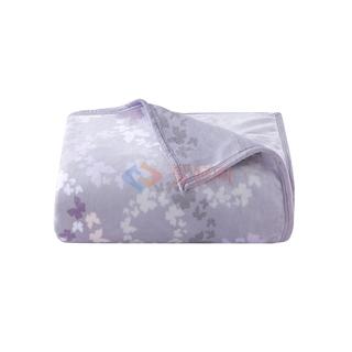 爱彼此/ABS Butterfly柔暖法兰绒双层多用毯 幻蝶 200*230cm