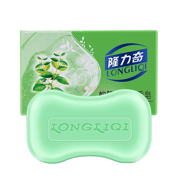 隆力奇120g蛇胆金银花香皂  72块/箱