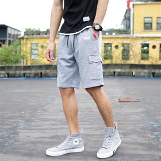 夏季潮牌男式多袋工装短裤
