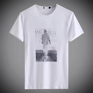 品牌剪标男士T恤