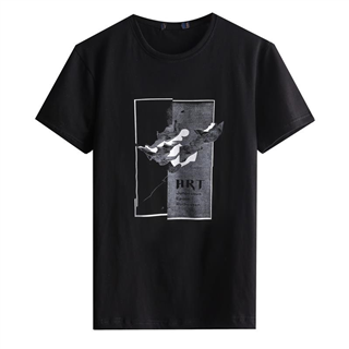 品牌剪标短袖T恤男2019夏季新款宽松上衣纯棉潮流日系T恤
