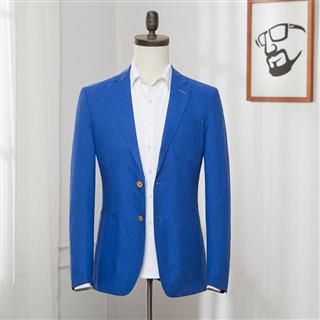 品牌剪标 春季男士休闲西服外套修身小西装男青年时尚单西潮 单