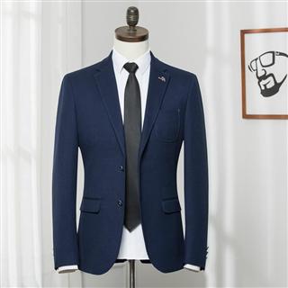 品牌剪标 休闲西服 青年男士时尚商务休闲单件小西装外套潮 单