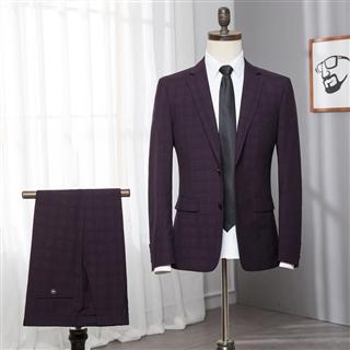 品牌剪标 男士西服套装新郎婚礼韩版修身商务正装男西装伴郎服装