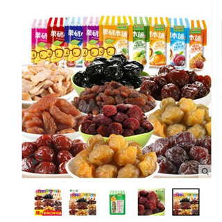 农夫山庄水果干话梅蜜饯陈皮青杨梅子蓝莓李果零食品10种混合装1000克装   偏远地区不发货