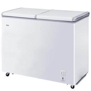 【限时特惠】海尔(Haier) 215升蝶形门双箱双温区冰柜 家用商用二合一 FCD-215SEA