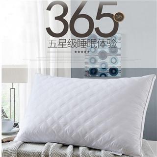 软枕芯立体枕头枕心绗缝立体双边枕芯高弹中高枕42*70cm一对装