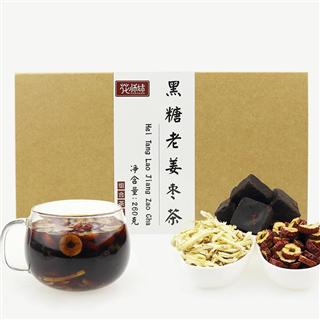黑糖姜枣茶组合老姜红枣八宝女人260g*2盒装
