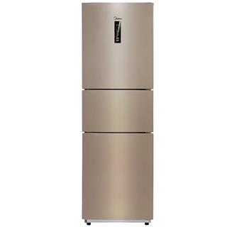 美的(Midea)226升 风冷无霜三门冰箱 电脑控温 节能静音 三开门电冰箱 BCD-226WTM(E)