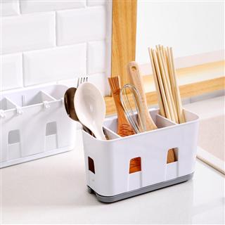 壁挂式筷笼子沥水架托创意家用筷笼厨房餐具勺子收纳盒