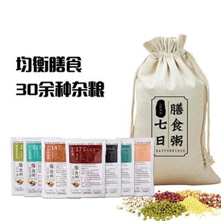 山野原粮七日粥粗粮组合100g*7袋速食熬米原材料小包装五谷杂粮