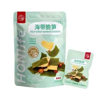 【两袋装】HONlife香辣海带脆笋海鲜熟食即食小吃160g/袋