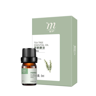 麦子茶树精油5ml清洁毛孔控油抗痘天然植物精油