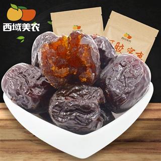 西域美农阿胶蜜枣420g*2袋特产蜜饯无核蜜枣果脯