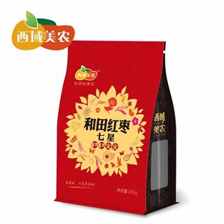 西域美农七星和田红枣250g*4袋肉质饱满新疆特产
