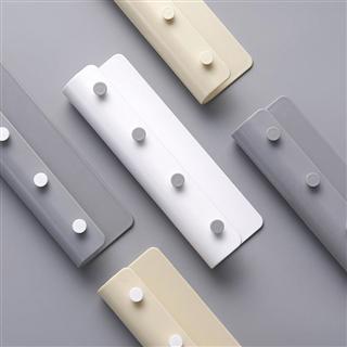 【两个装】简约U型壁挂式置物挂钩架免钉收纳架创意多用挂钩