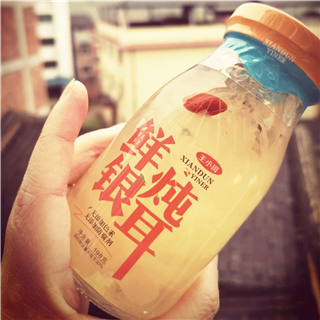 王小珥鲜炖银耳198g*6瓶木瓜银耳即食新鲜红枣枸杞银耳羹