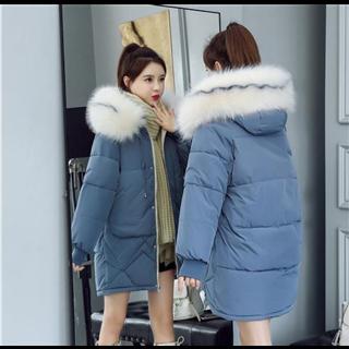 99包邮棉袄2019年新款韩版修身棉衣女中长款爆款反季羽绒棉服冬季外套潮