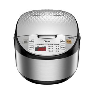 Midea/美的MB-FB40Simple302 智能电饭煲 家用电饭锅4L 4-5-6人 灵动银
