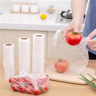 【小中大组合共300只】背心式食品保鲜袋连卷袋一次性加厚手撕食品袋