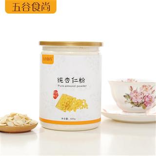 杏仁粉冲调饮品低温烘焙纯杏仁粉代餐粉500g
