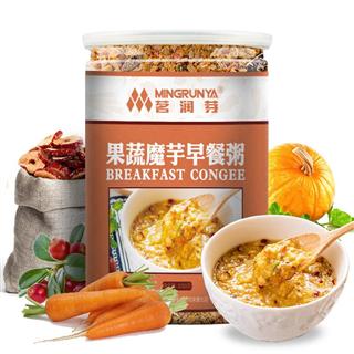 果蔬魔芋早餐粥粉冲泡即食五谷杂粮营养代餐粉饱腹代餐粉