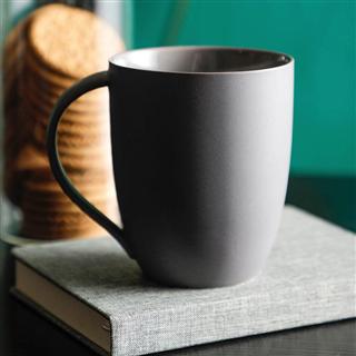 北欧色釉马克杯哑光陶瓷杯家用喝水杯办公室茶杯