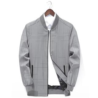 2020春季新款男士夹克商务休闲外套春秋薄款棒球服男装上衣