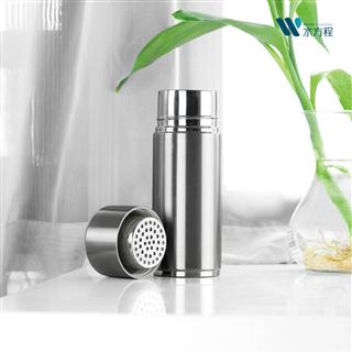 【品行科技 买二送一同款】 水方程锌泉水杯功能水杯不锈钢水杯220ml