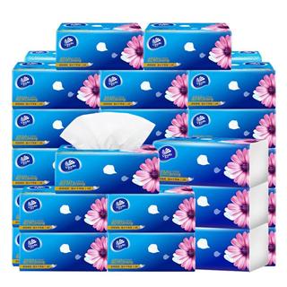维达面巾纸3层纸抽18包纸巾包邮餐巾纸家庭装