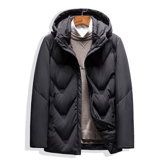 2020秋冬新款加厚防风男款羽绒服保暖外套羽绒服男短款