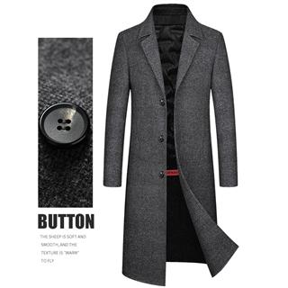 2020 双面羊绒大衣 商务休闲男士风衣外套