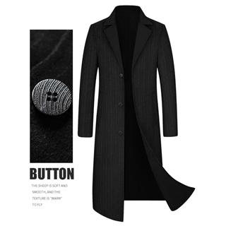 2020新款男士羊毛呢大衣 双面尼风衣 羊毛含量50%