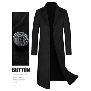 2020新款双面尼羊绒大衣 商务风衣 70%羊毛