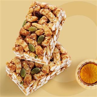 垦丁旺每日坚果沙琪玛软糯蛋糕小吃零食点心面包早餐300g*2