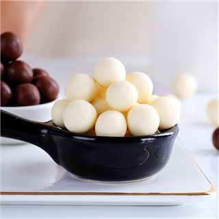 垦丁旺情侣巧克力球夹心酥脆休闲零食儿童礼物纯可可脂200g*2