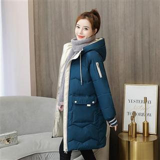 99包邮反季羽绒棉服冬装2020新款韩版棉衣女中长款宽松加厚棉袄外套