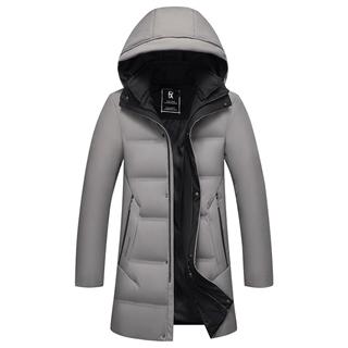 羽绒服男士冬季新款高品质90白鸭绒爆款男装中长款加厚外套278包邮