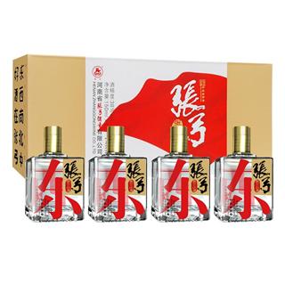 张弓酒张三小酒150ml*4瓶/盒38度浓香型 白酒纯粮食酒/整箱