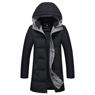 288包邮90%白鸭绒冬季羽绒服男士加厚极寒冬装上衣连帽保暖外套