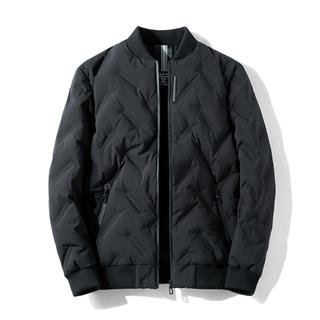 冬季新款跨境羽绒服男轻薄修身立领男士羽绒服外套