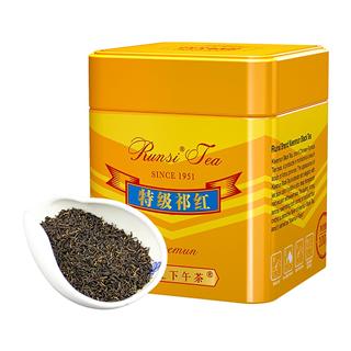 润思 祁门红茶 正宗原产特级工夫 黄罐特级 100g*1