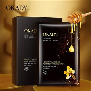 欧佩蜂蜜玻尿酸补水面膜嫩肤保湿补水滋润面部护肤